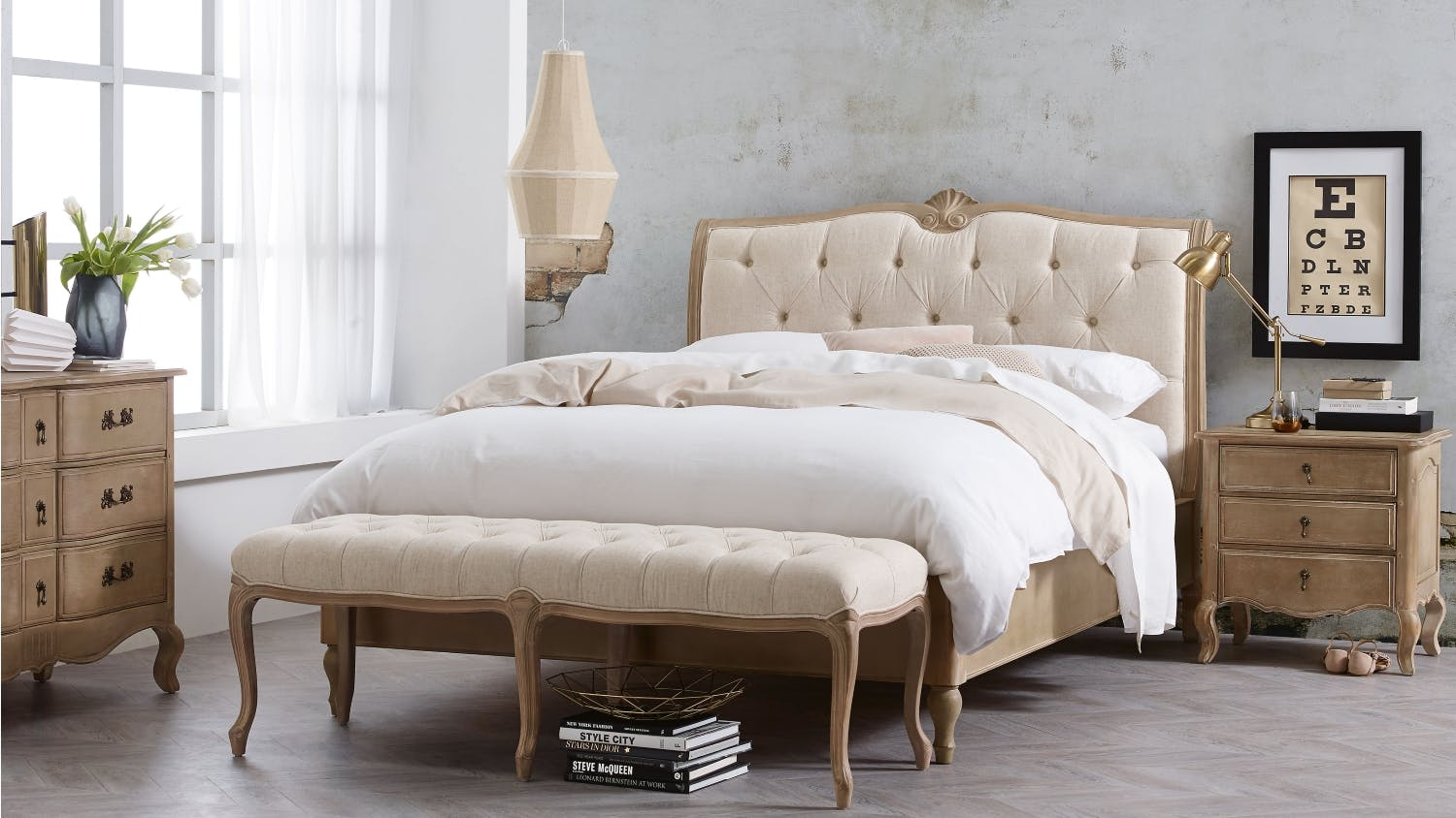Bench By Bed: Letoile Bed Bench