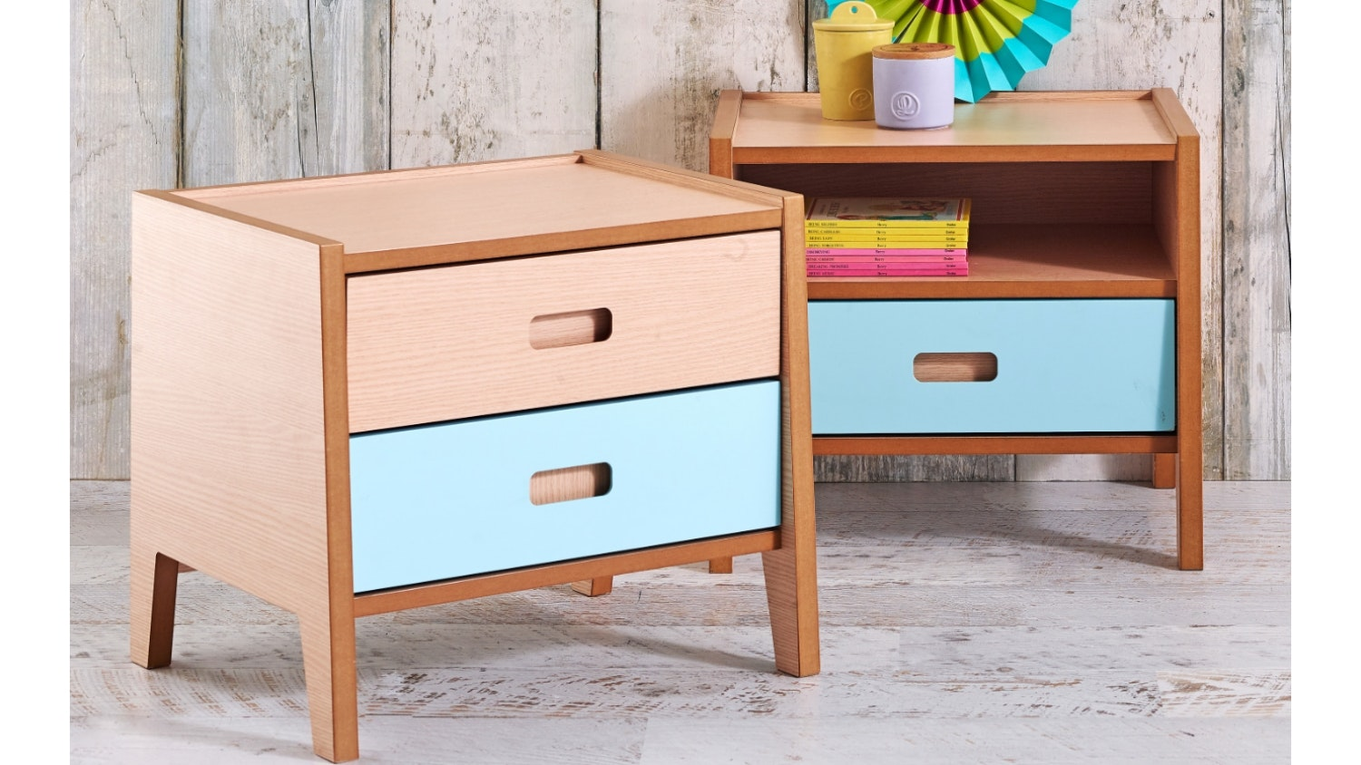sleigh bedside tables