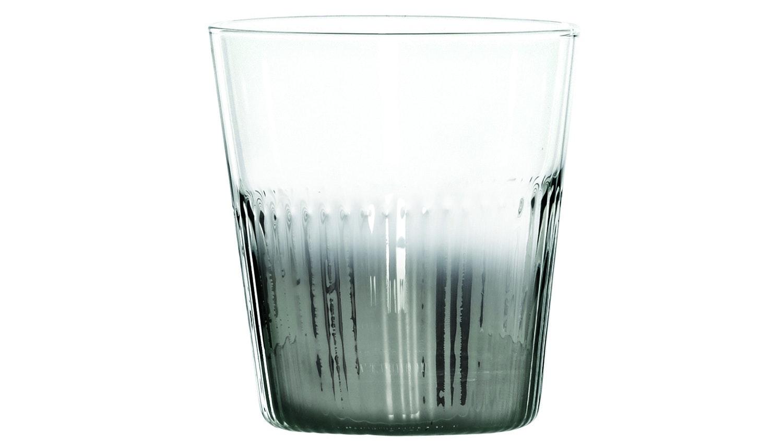 Chin Chin Ribbed Tumbler - Silver