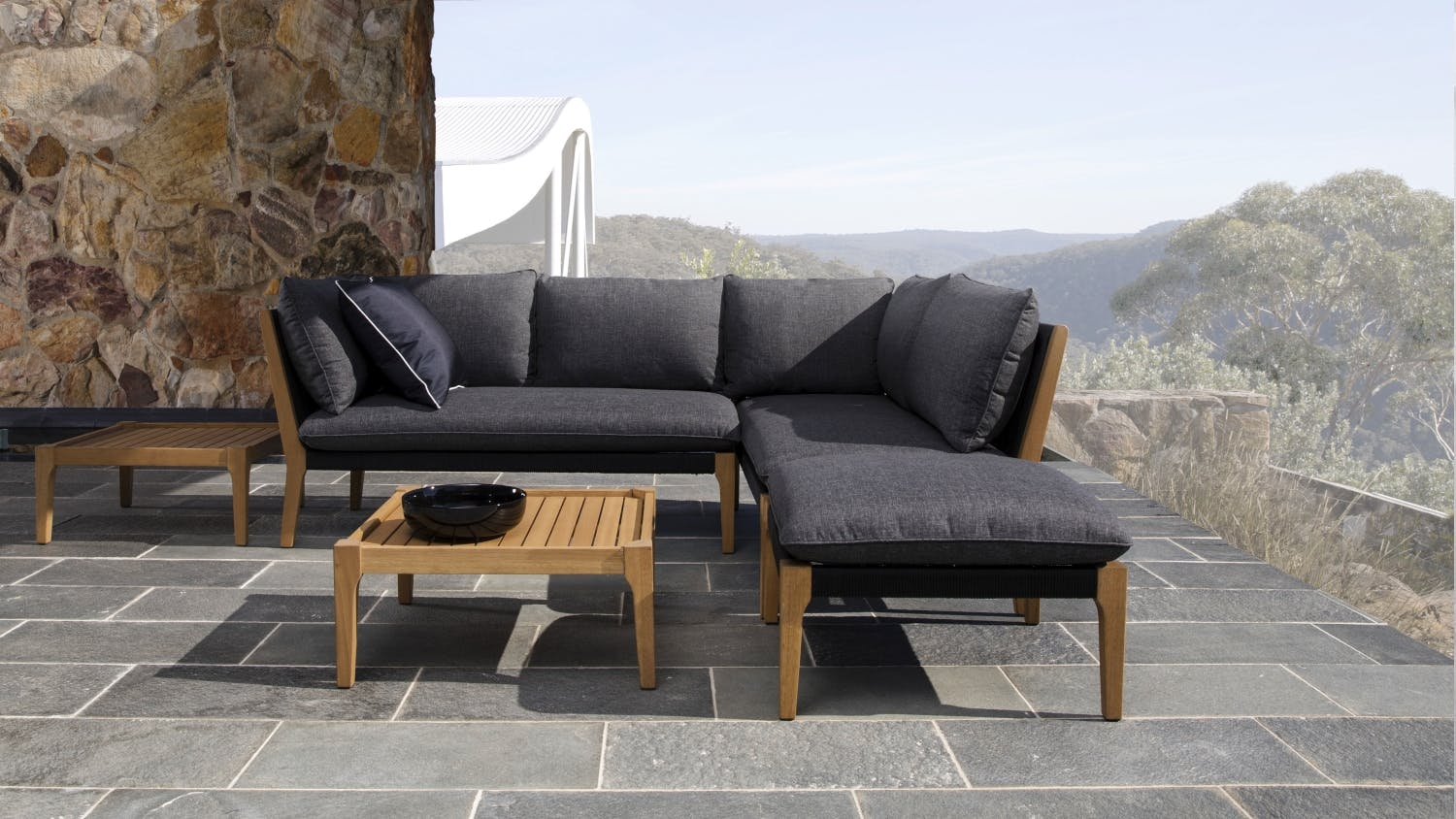 koa outdoor modular sofa domayne. Black Bedroom Furniture Sets. Home Design Ideas