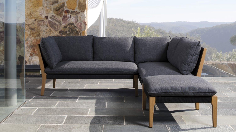 Koa outdoor modular sofa domayne for Sofa modular exterior