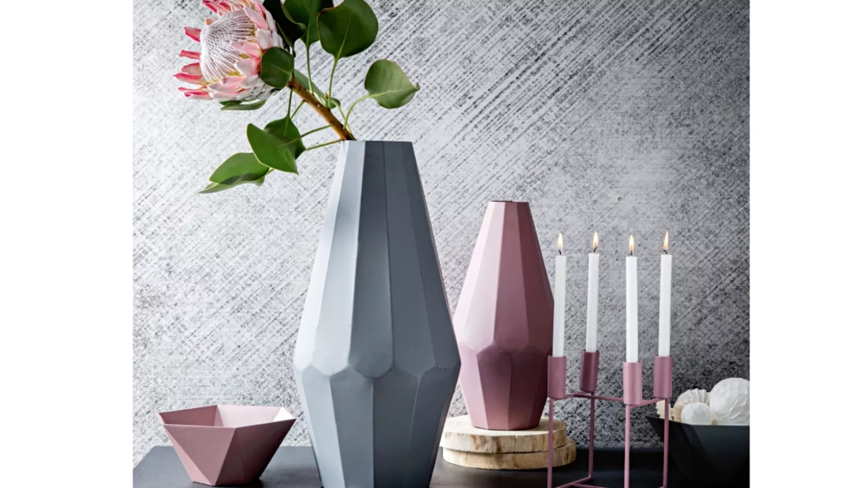 Evelyn Small Vase - Vintage Pink