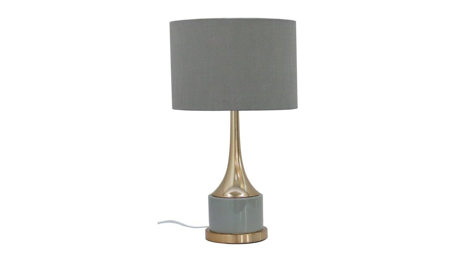 Audrey Table Lamp Grey