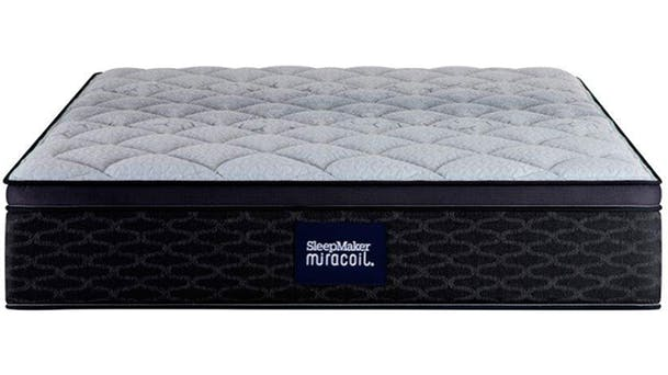 Sleepmaker Miracoil Armadale Firm Mattress. Bedroom Furniture   Beds  Bedside Tables  Bunk Beds  Mattress