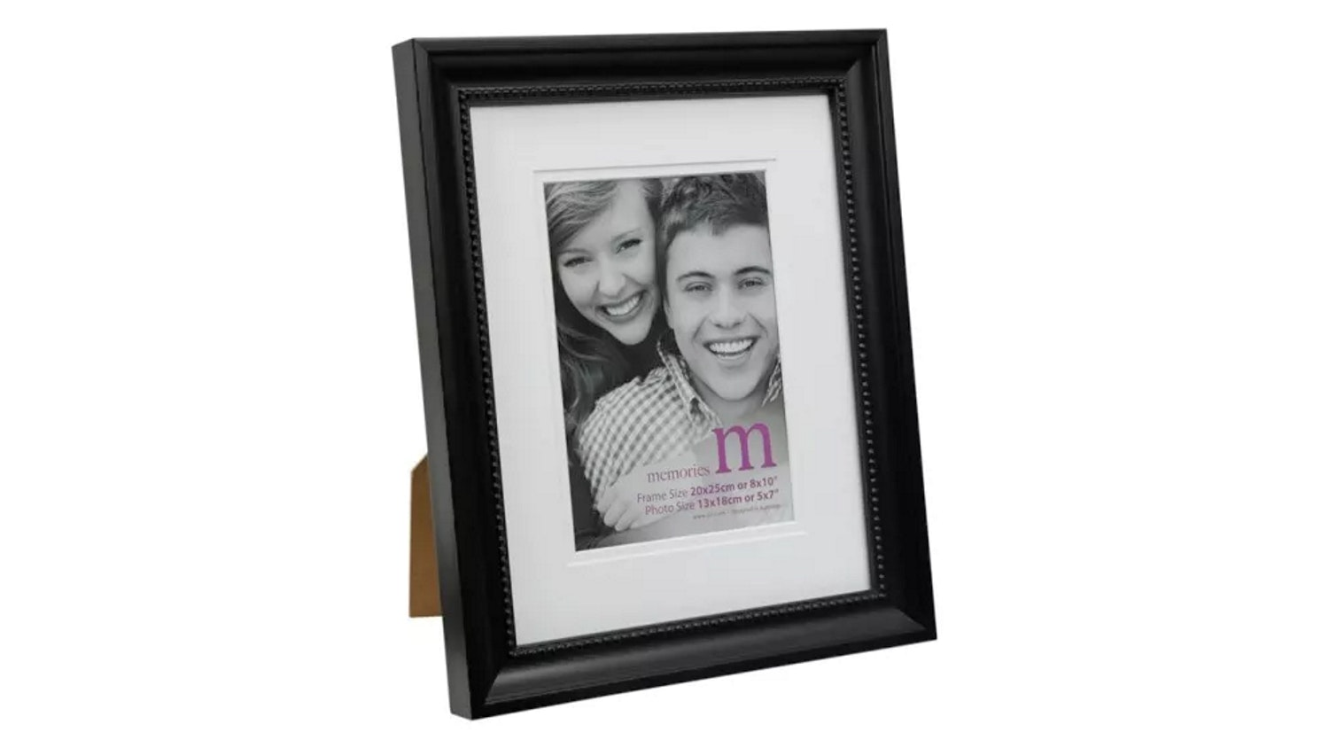 "UR1 Memories 8""x 10"" with 5""x 7"" Opening Photo Frame - Black"
