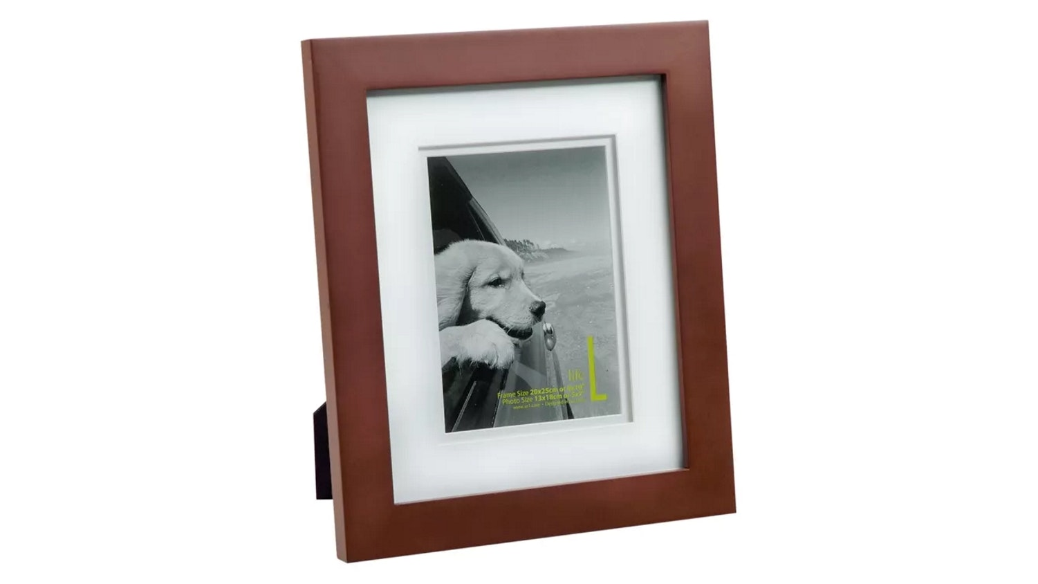 "UR1 Life 8"" x 10"" with 5"" x 7"" Opening Photo Frame - Mocha"