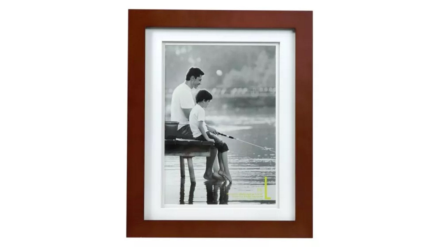 "UR1 Life 11"" x 14"" with A4 Opening Photo Frame - Mocha"