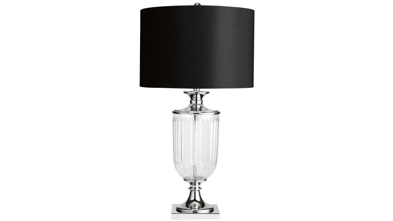 Ornate glass lamp domayne ornate glass table lamp aloadofball Choice Image