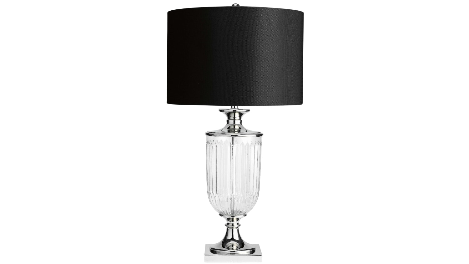 Captivating Ornate Glass Table Lamp