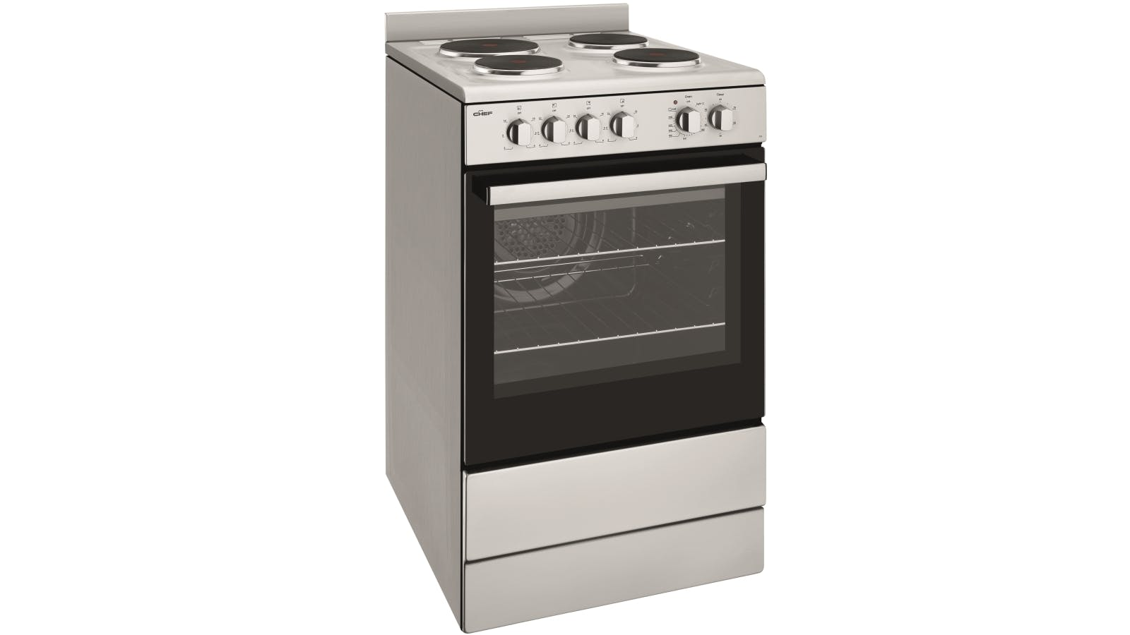 Chef 54cm Freestanding Electric Cooker   Domayne