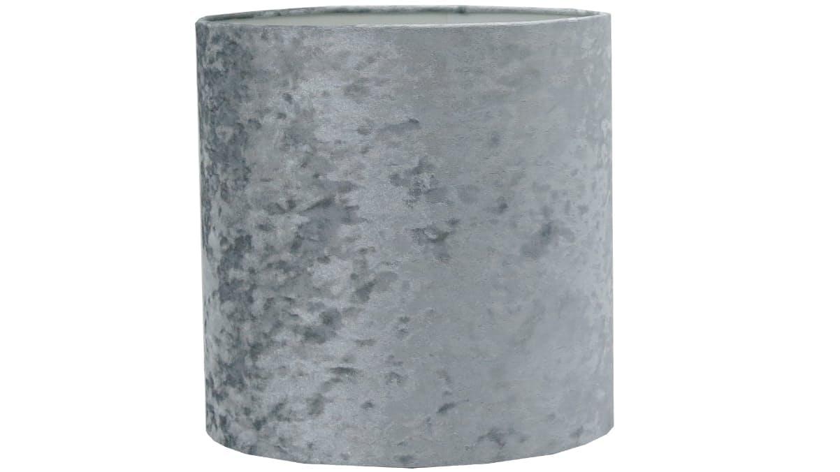 Velvet lamp shade grey domayne velvet lamp shade grey aloadofball Images