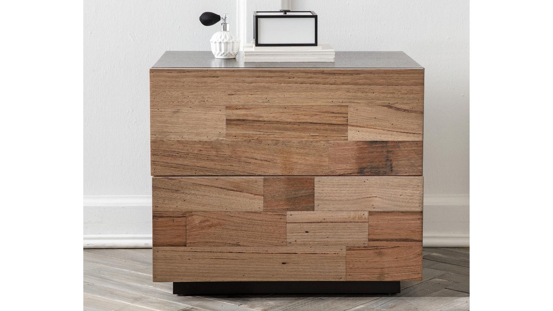 Charming Abode 2 Drawer Bedside Table