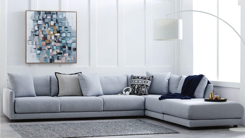 Modular Furniture Sofa: Hammar Fabric Modular Sofa