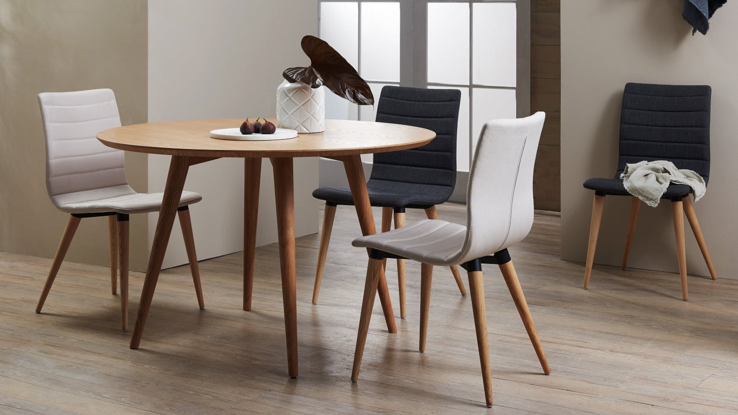Popular 184 list round dining table Ashley home furniture adelaide