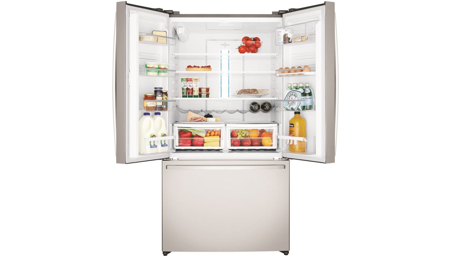 Westinghouse 605l French Door Fridge With Water Dispenser Domayne