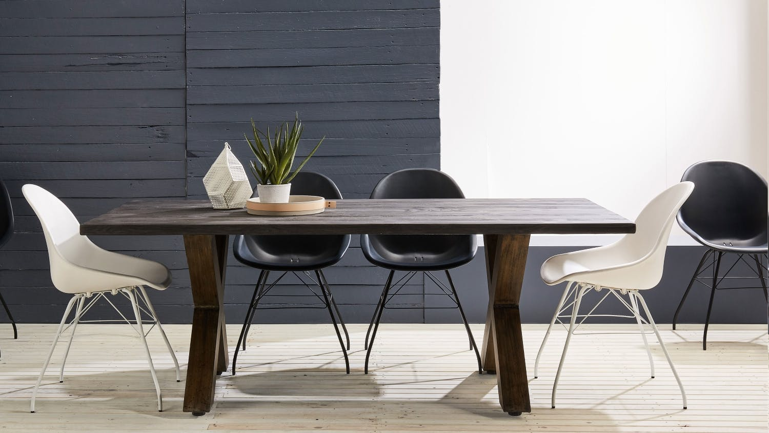 Firenze outdoor dining table domayne for Exterior dining table