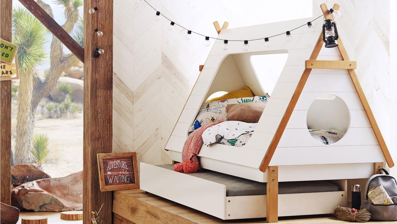 Tee Pee Kids Trundle Bed Domayne