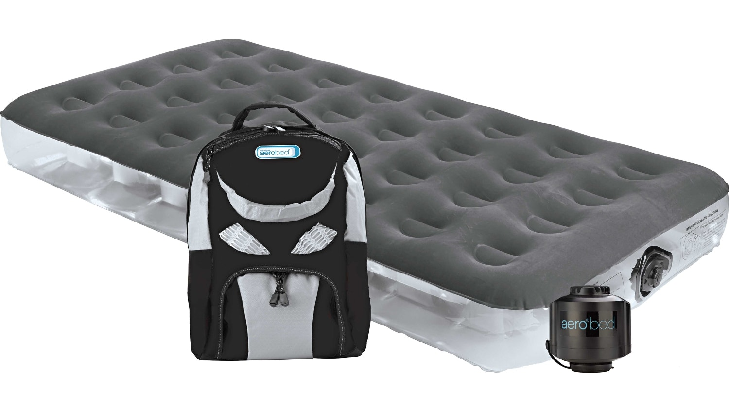 Aerobed Single Outdoor Mattress & Backpack