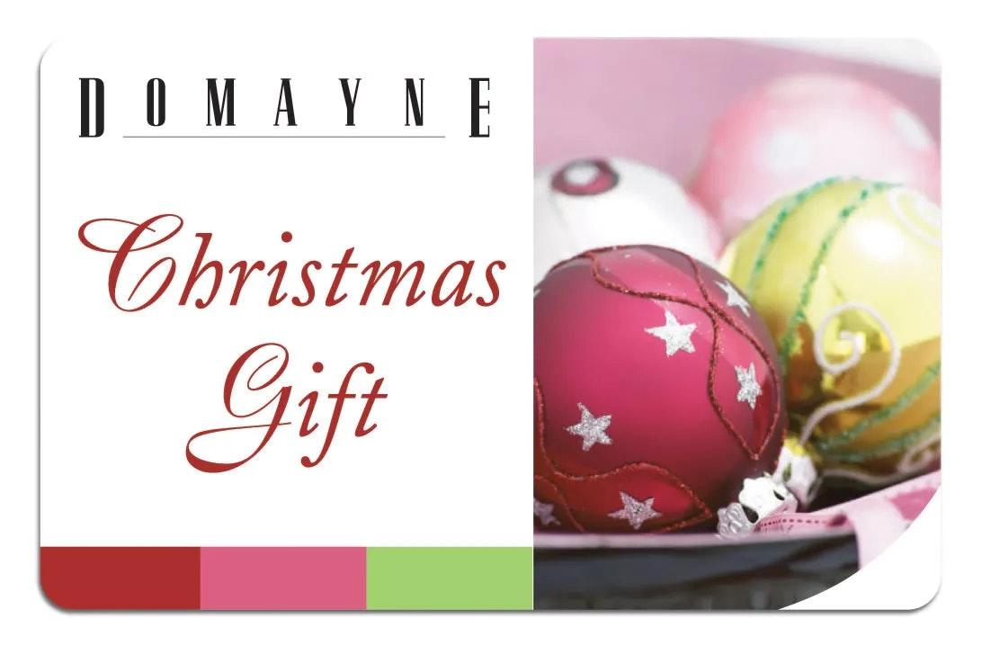 Domayne Christmas Gift Card