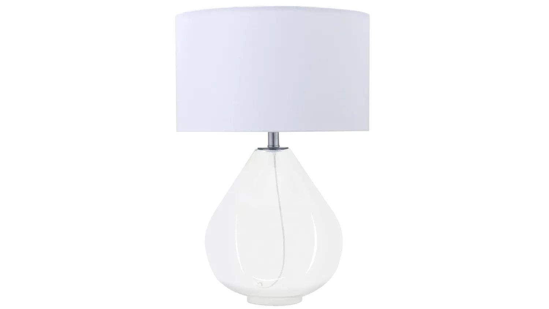 Teardrop Table Lamp - White