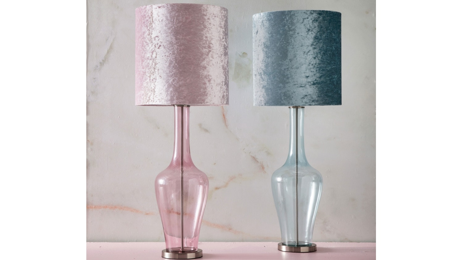 Zarie Table Lamp - Pink