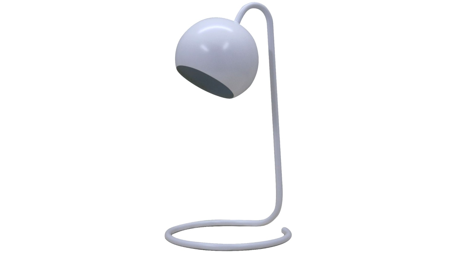 Scoop Study Lamp - White