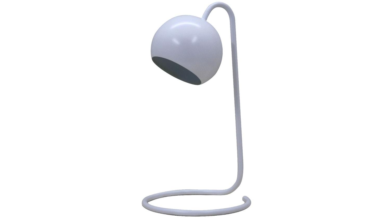 Scoop Study Lamp - White