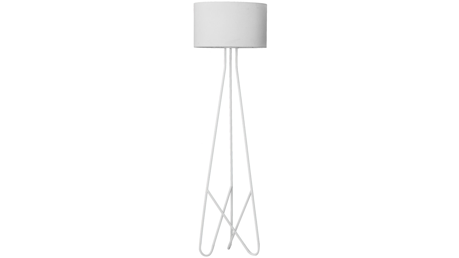 Boston Floor Lamp - White