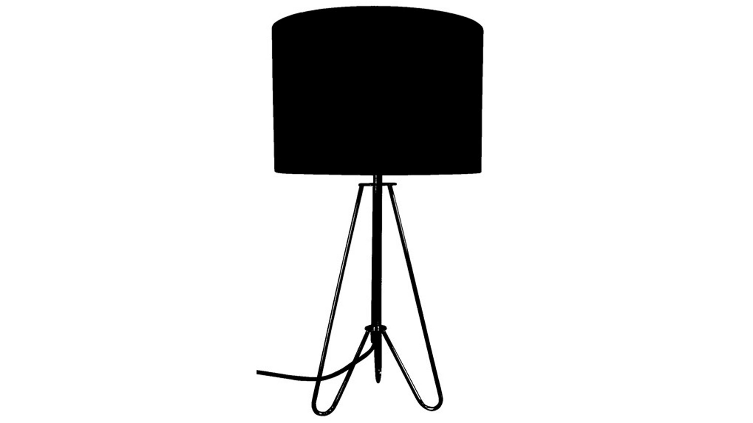Kludo Table Lamp - Black
