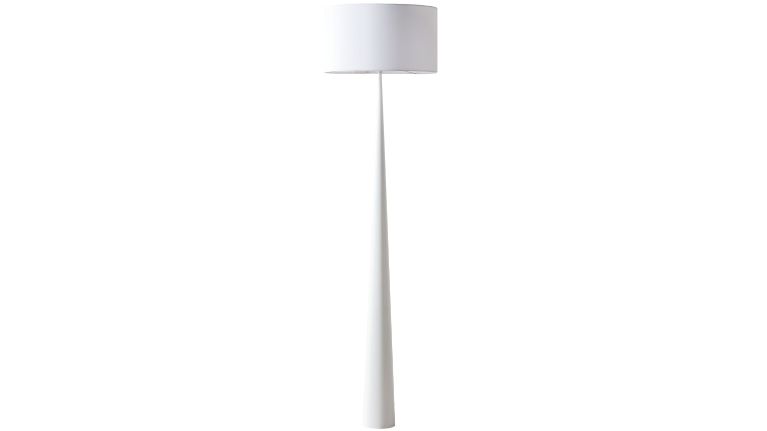 Denver Floor Lamp - White