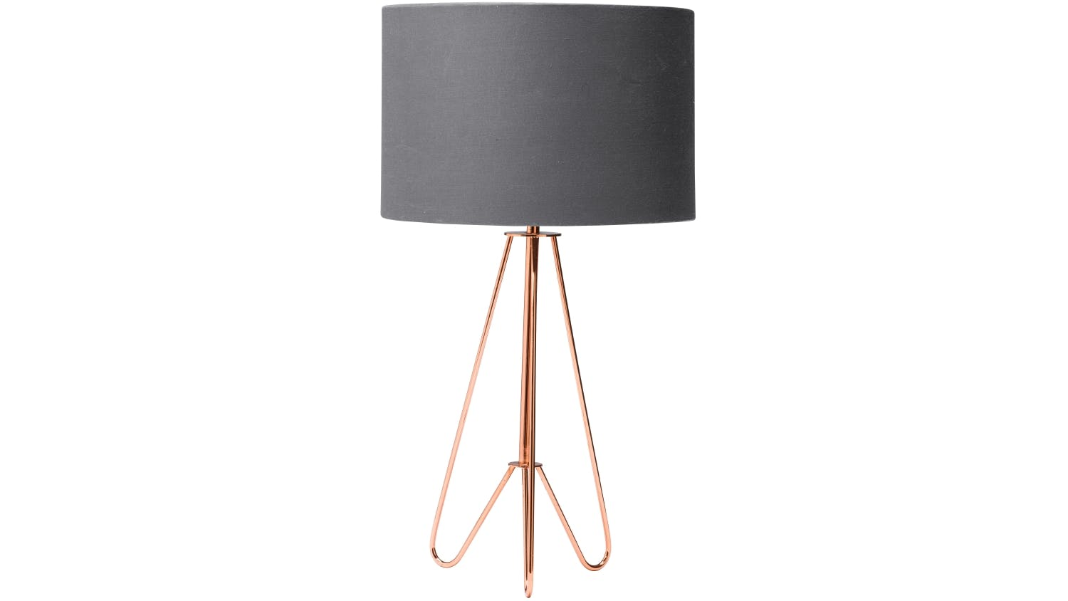Kludo table lamp copper domayne kludo table lamp copper mozeypictures Gallery