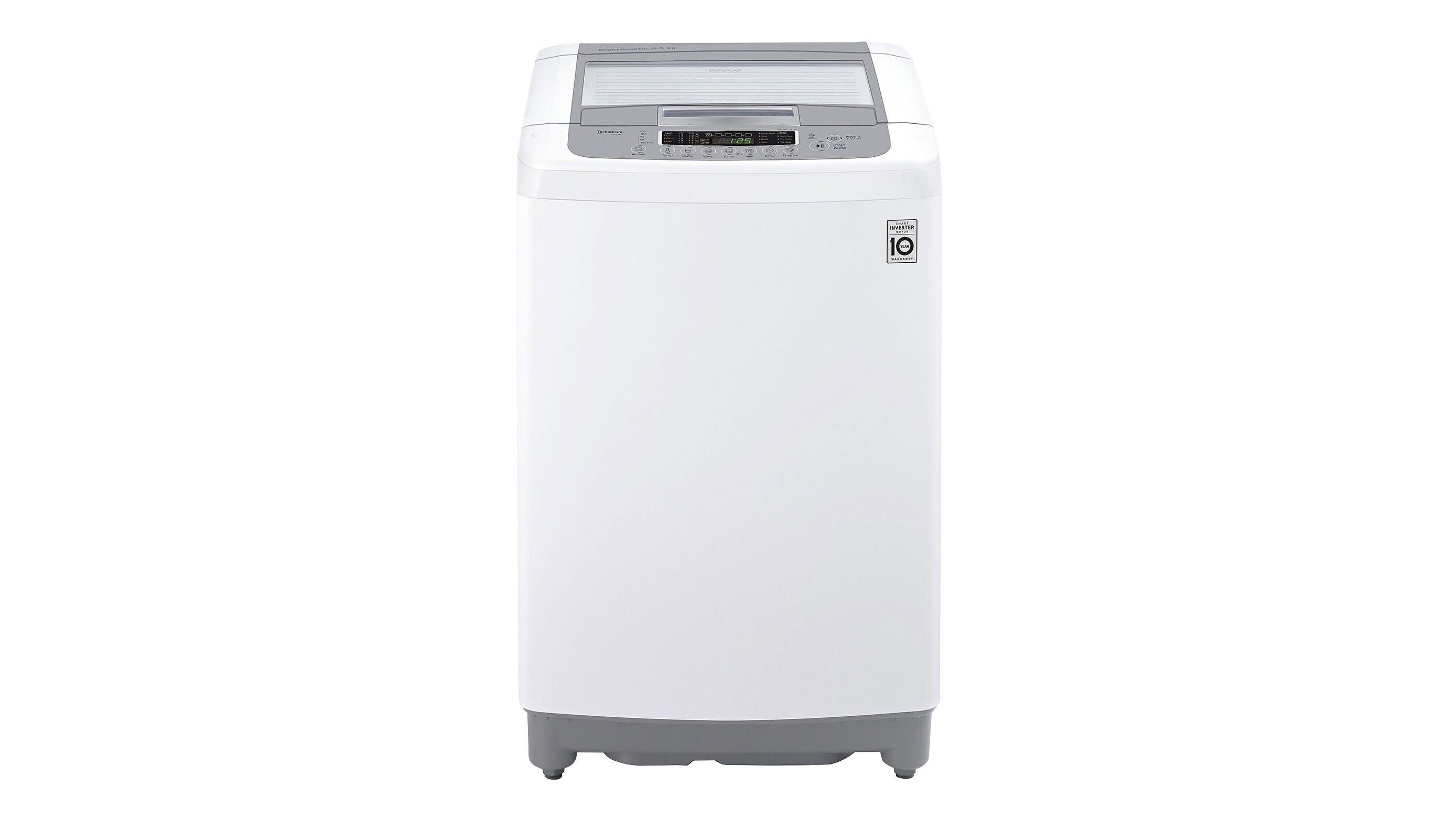 Lg Inverter Motor Top Load Washing Machine White