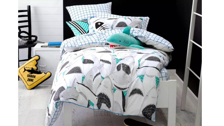 Hiccups Shark Zone Cushion