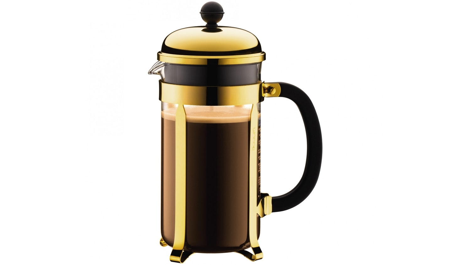 Bodum Chambord 3 Cup Coffee Maker - Gold
