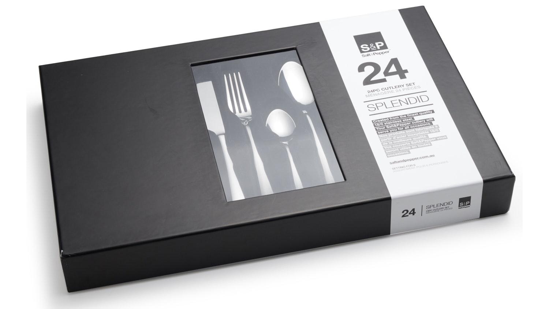 Salt & Pepper Splendid 24 Piece Cutlery Set