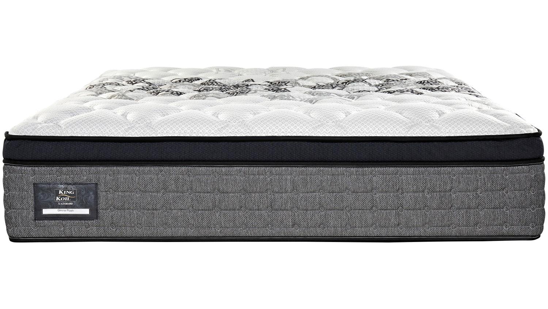 king koil girona plush mattress domayne