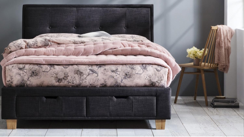 Domayne Luxuries Velvet Pin Comforter - Dusty Pink