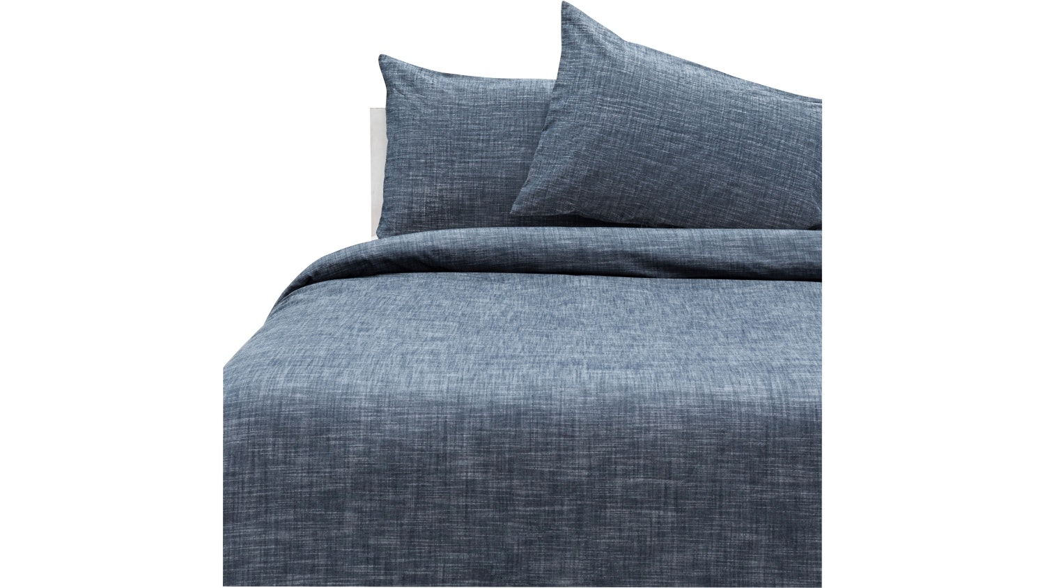 Domayne Luxuries Aegean Chambray Quilt Cover Set