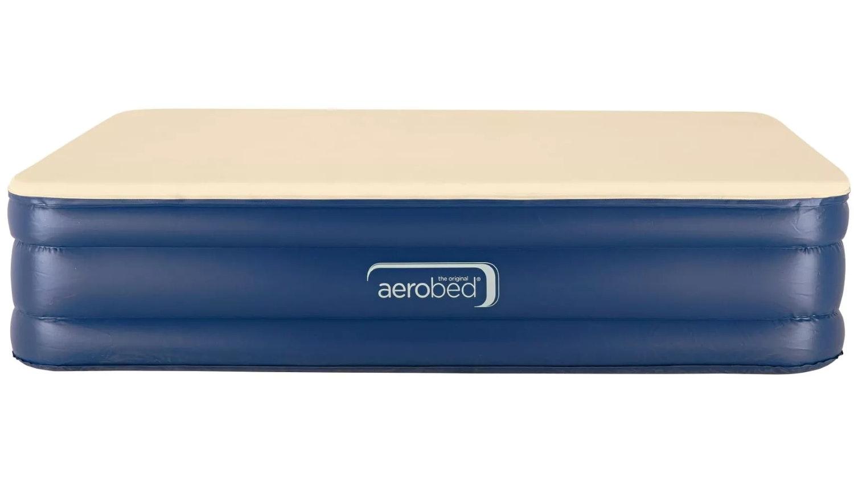 Aerobed Memory Foam Queen Inflatable Mattress