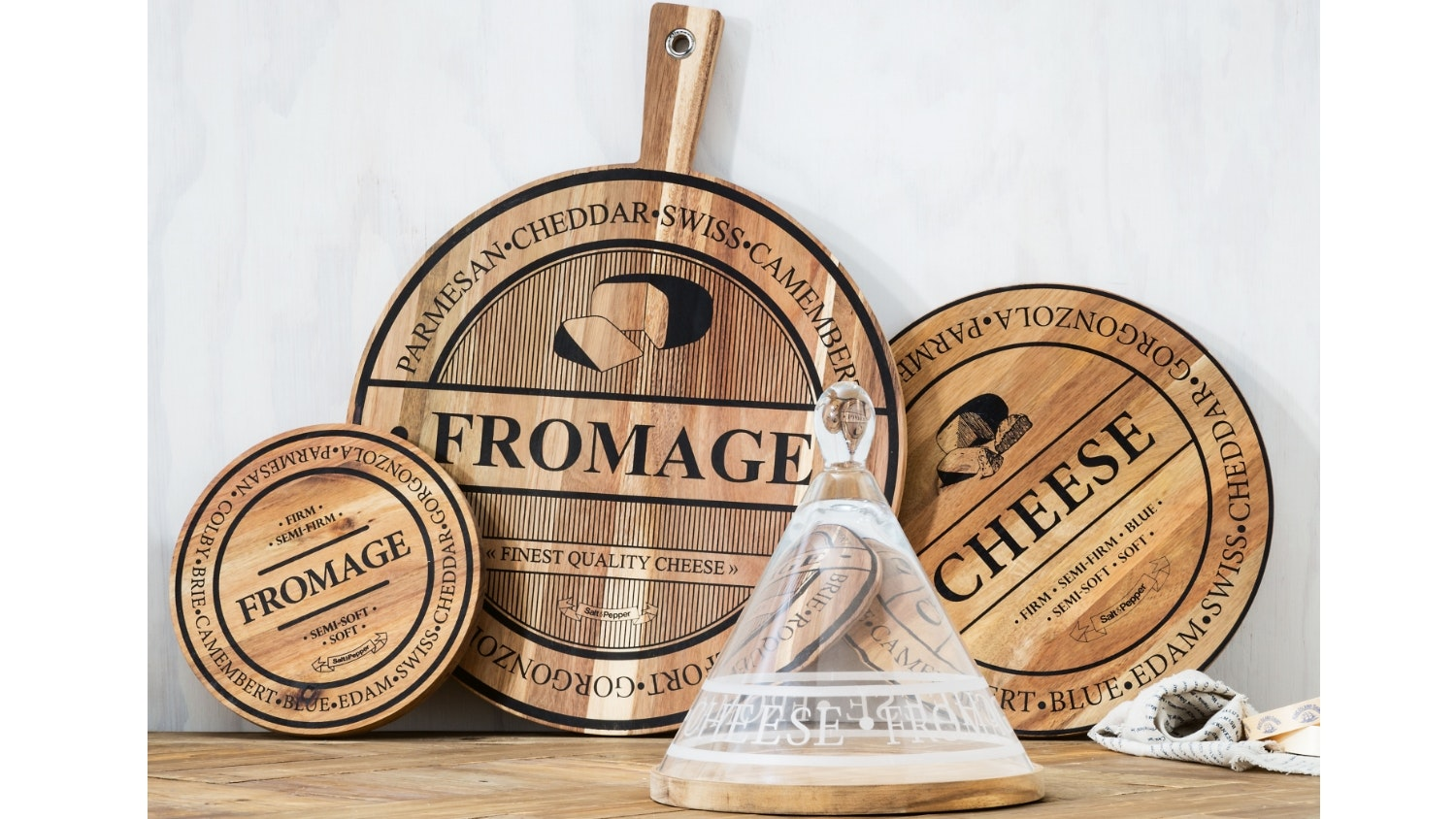 Salt & Pepper Fromage Cheese Board