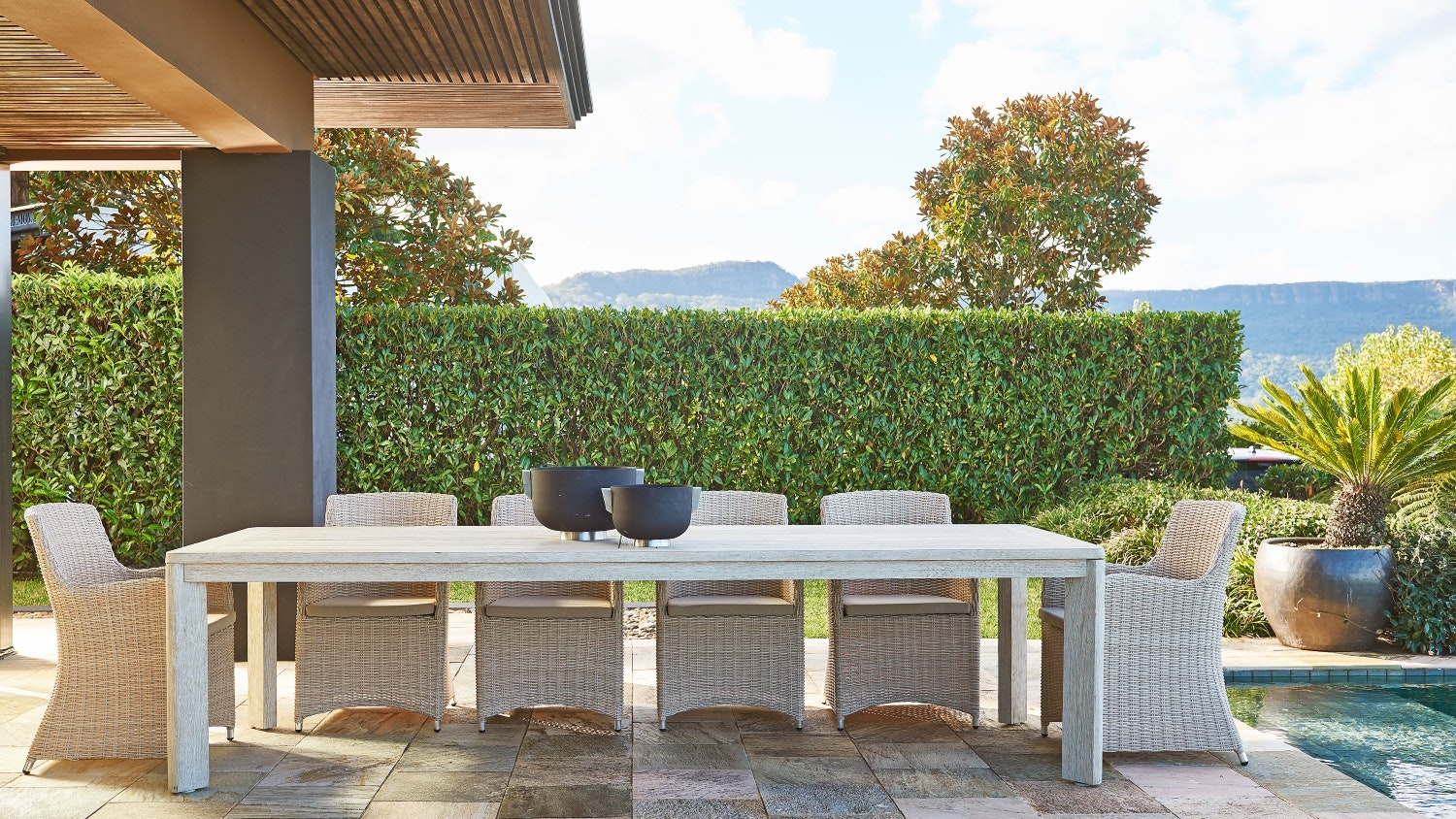 Verena 11 Piece Outdoor Dining Setting