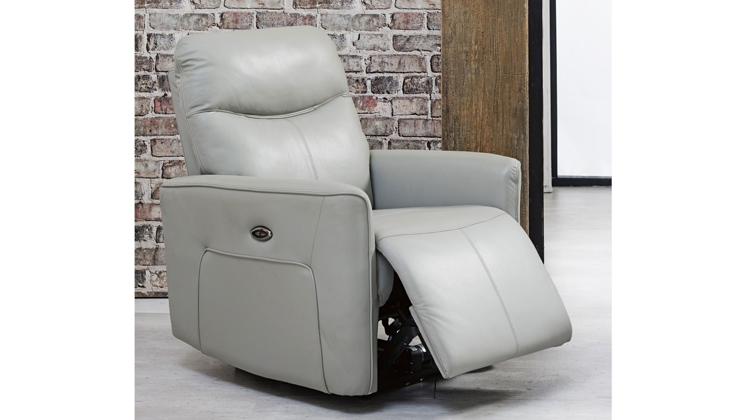 Savoy Leather Electric Recliner
