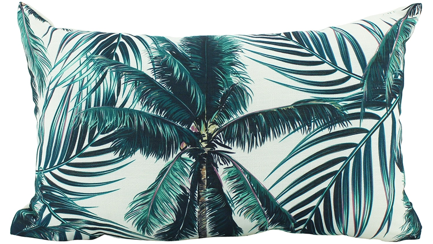 Martha Palm Lumbar Cushion