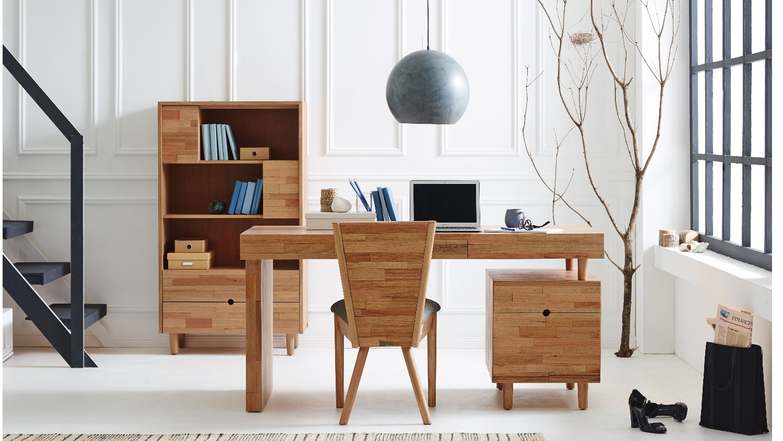 Enya 3 Drawer Desk