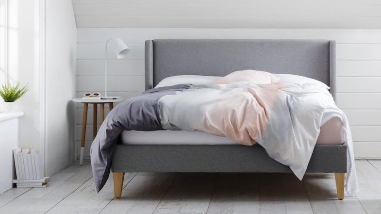 Harlow bed frame domayne for Beds harlow