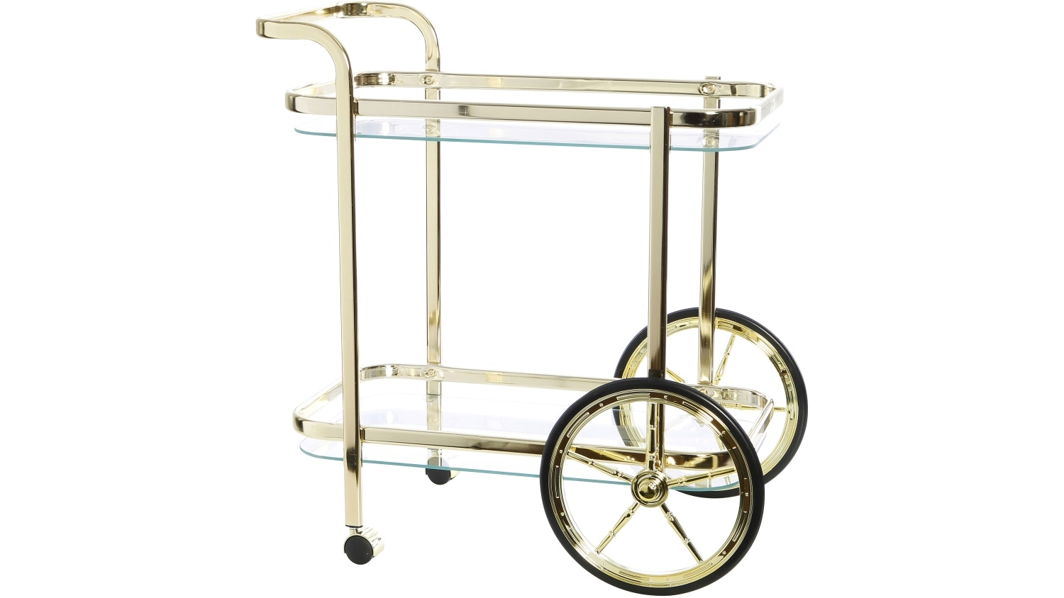 Jones Rectangular Barcart - Gold