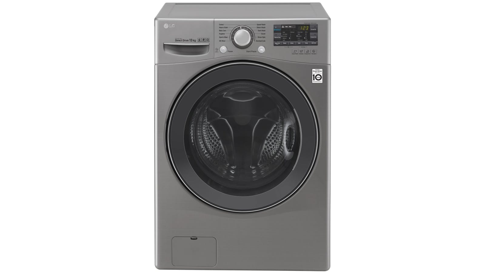 Lg 13kg Front Load Washing Machine With Turbo Clean