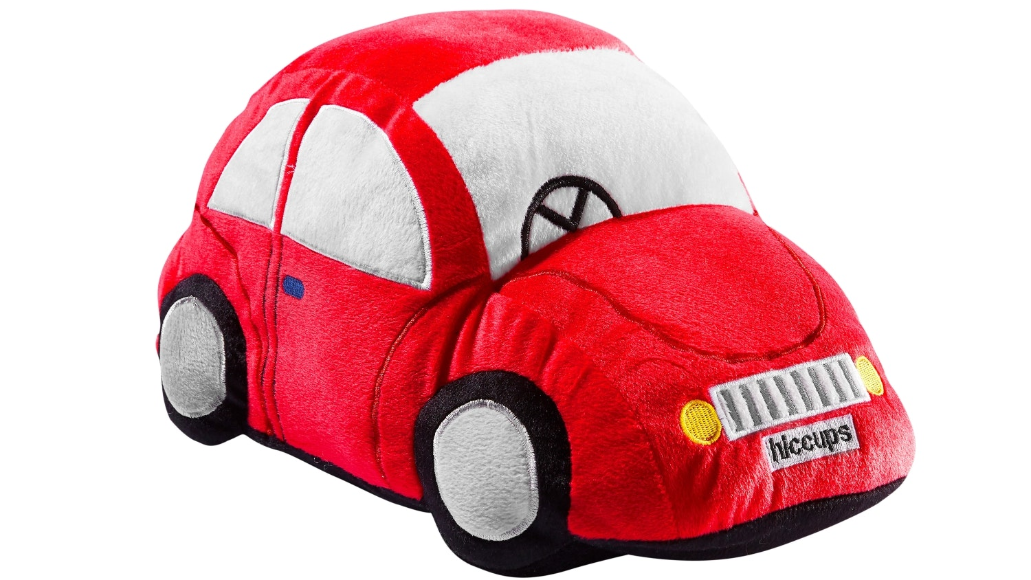 Hiccups Town Car Novelty Cushion - Red