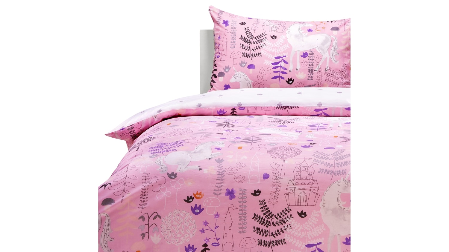Hiccups Moon Dance Pink Quilt Cover Set