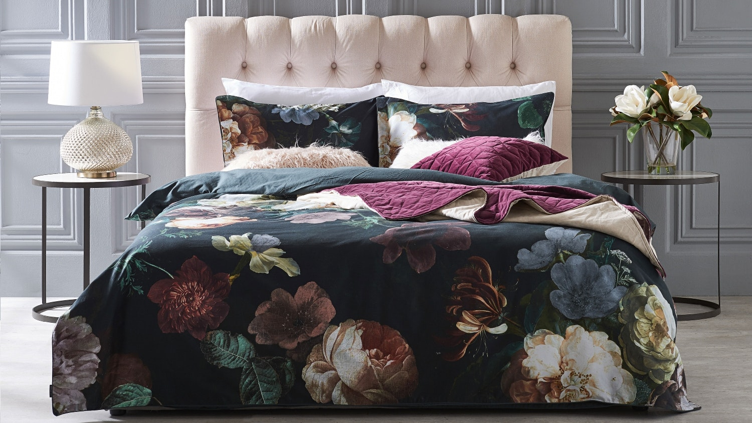 Linen House Winona Ivy Quilt Cover Set
